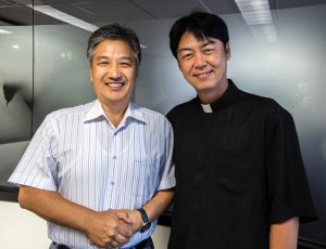 The chaplaincy creates a space for Korean parishioners to come together